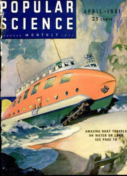 Popular Science - Popular Science - April 1931