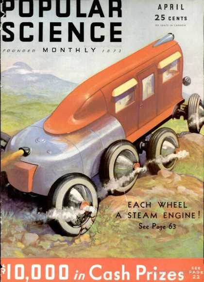 Popular Science - Popular Science - April 1932