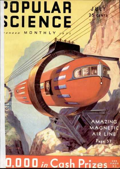 Popular Science - Popular Science - July 1932