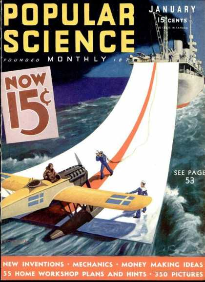 Popular Science - Popular Science - January 1933