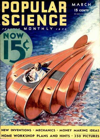 Popular Science - Popular Science - March 1933