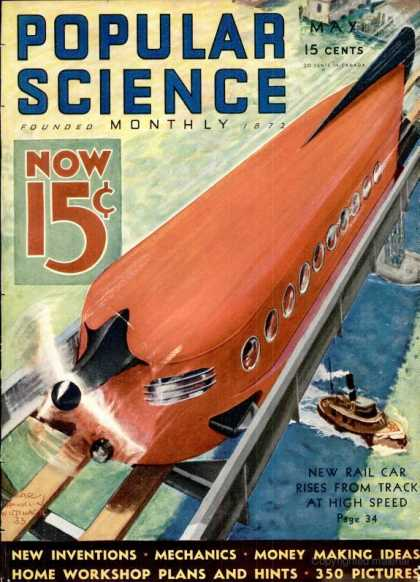 Popular Science - Popular Science - May 1933