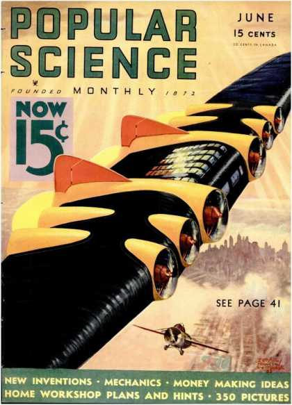 Popular Science - Popular Science - June 1933