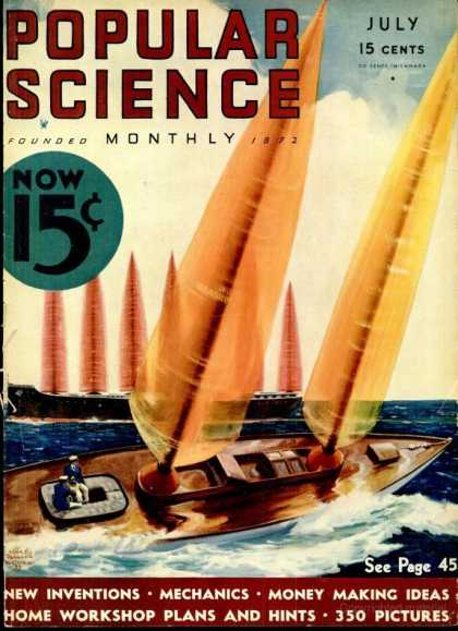 Popular Science - Popular Science - July 1933