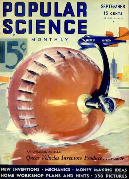 Popular Science - Popular Science - September 1933