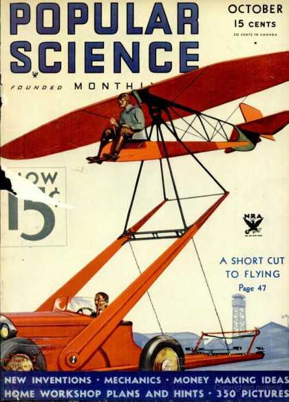 Popular Science - Popular Science - October 1933
