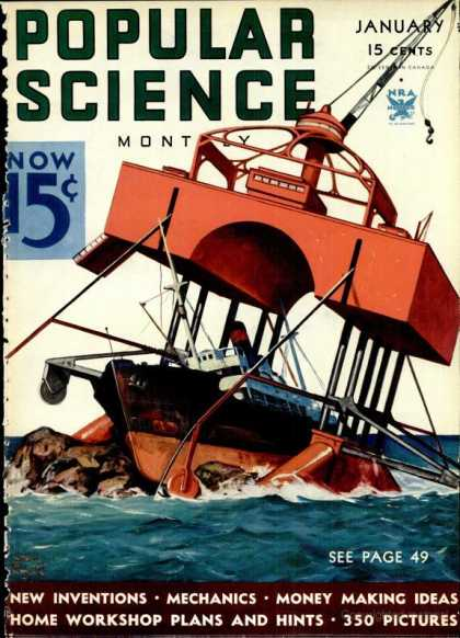 Popular Science - Popular Science - January 1934