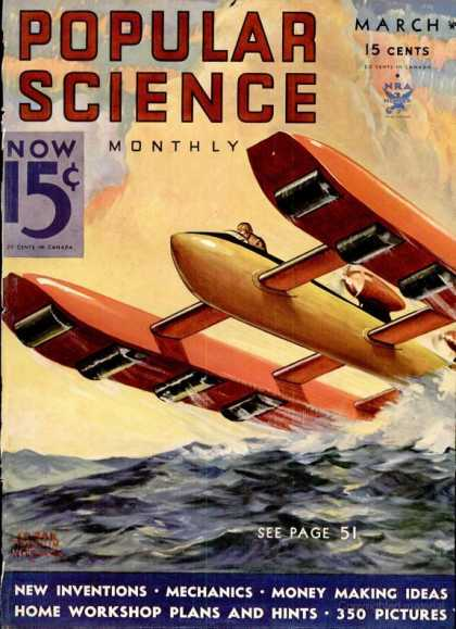 Popular Science - Popular Science - March 1934