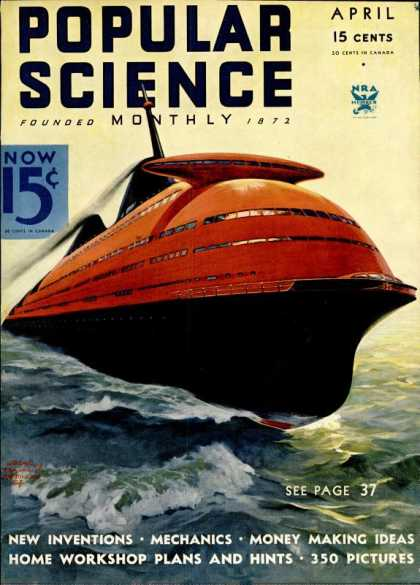 Popular Science - Popular Science - April 1934