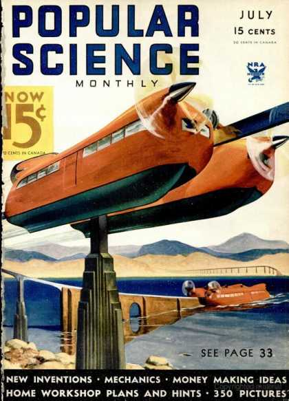 Popular Science - Popular Science - July 1934