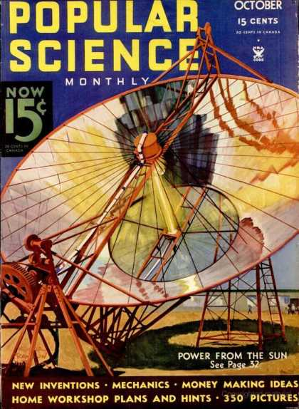 Popular Science - Popular Science - October 1934