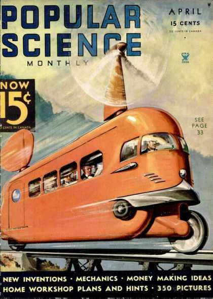 Popular Science - Popular Science - April 1935