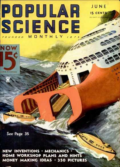 Popular Science - Popular Science - June 1935