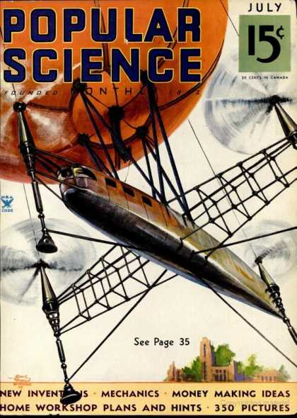 Popular Science - Popular Science - July 1935