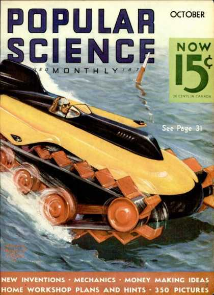 Popular Science - Popular Science - October 1935