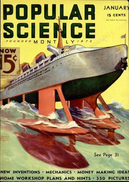Popular Science - Popular Science - January 1936
