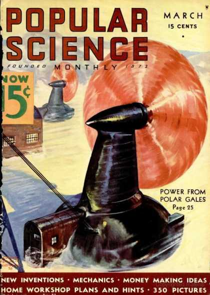 Popular Science - Popular Science - March 1936