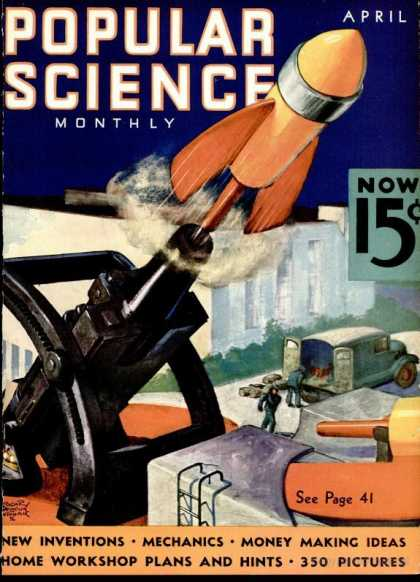 Popular Science - Popular Science - April 1936