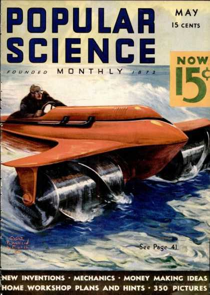 Popular Science - Popular Science - May 1936