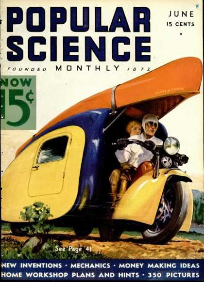 Popular Science - Popular Science - June 1936