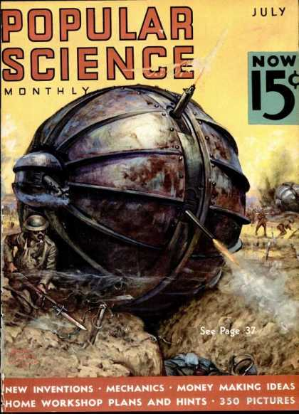Popular Science - Popular Science - July 1936
