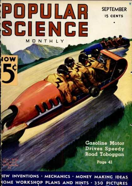 Popular Science - Popular Science - September 1936