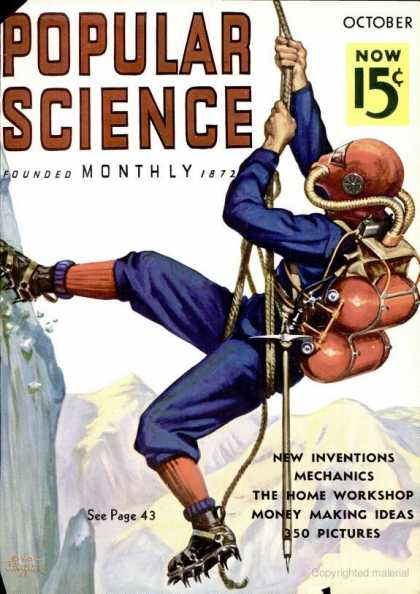 Popular Science - Popular Science - October 1936
