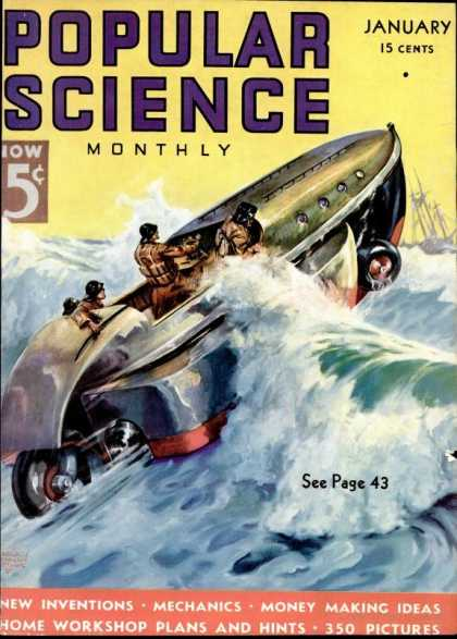 Popular Science - Popular Science - January 1937