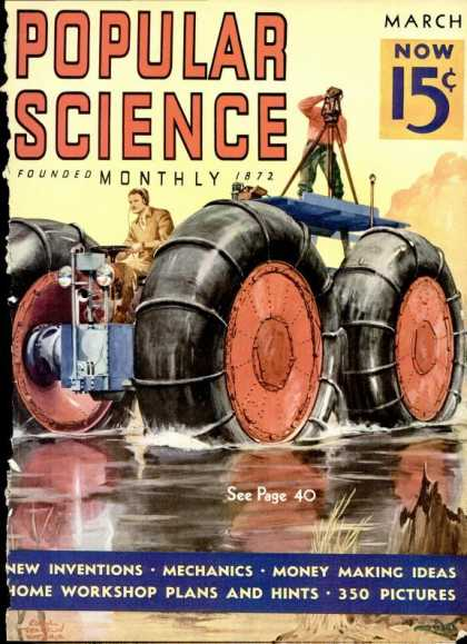 Popular Science - Popular Science - March 1937