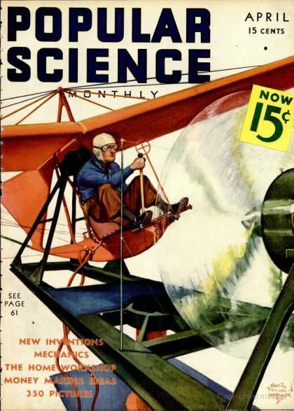 Popular Science - Popular Science - April 1937