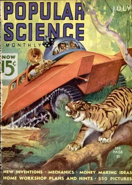Popular Science - Popular Science - July 1937