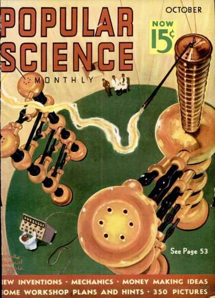 Popular Science - Popular Science - October 1937