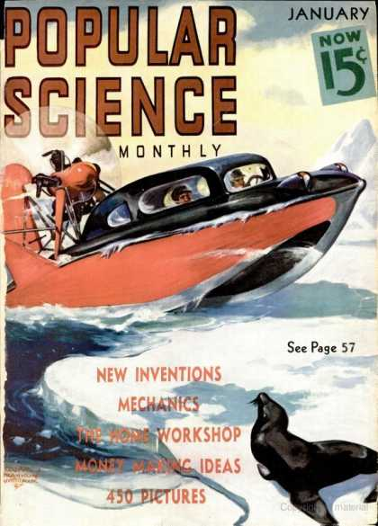 Popular Science - Popular Science - January 1938