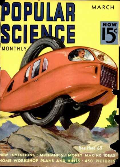 Popular Science - Popular Science - March 1938