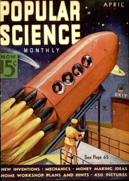 Popular Science - Popular Science - April 1938