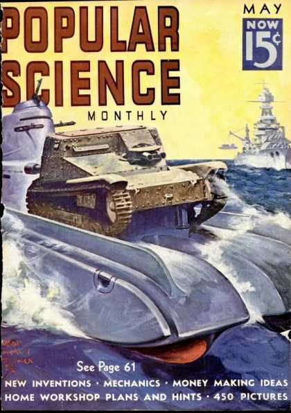Popular Science - Popular Science - May 1938