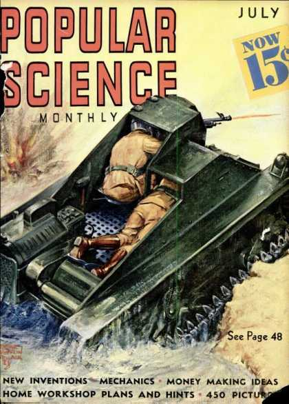 Popular Science - Popular Science - July 1938