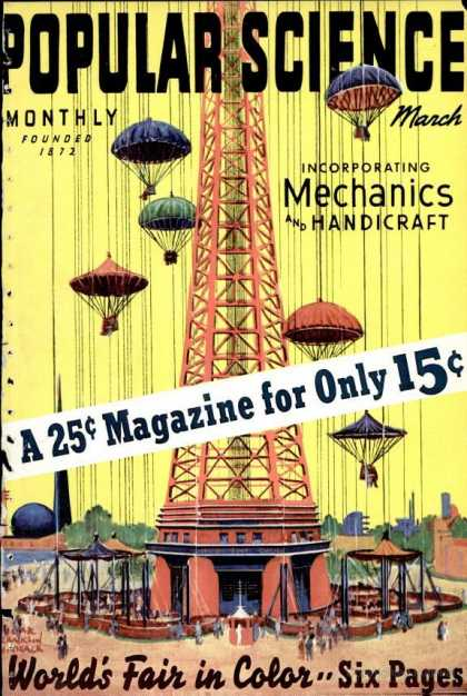Popular Science - Popular Science - March 1939