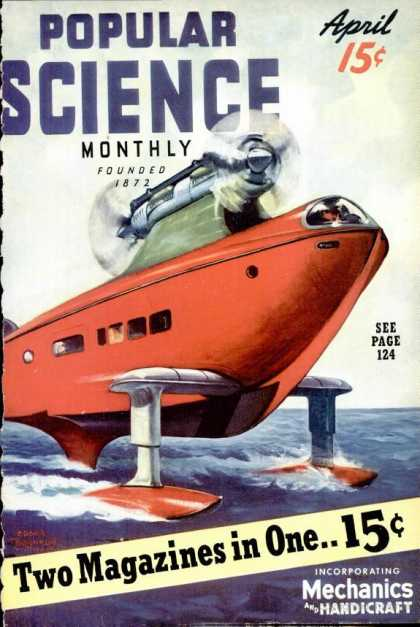 Popular Science - Popular Science - April 1939