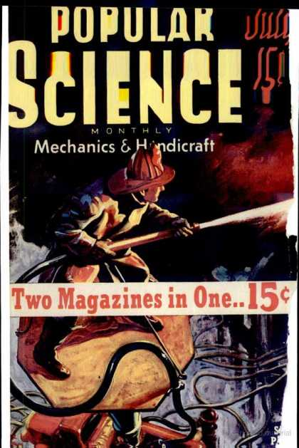 Popular Science - Popular Science - July 1939