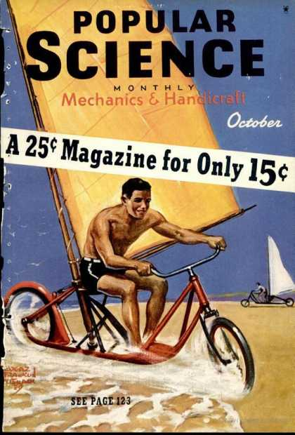 Popular Science - Popular Science - October 1939