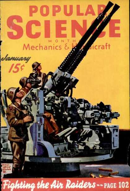 Popular Science - Popular Science - January 1940