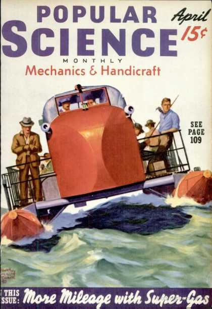 Popular Science - Popular Science - April 1940