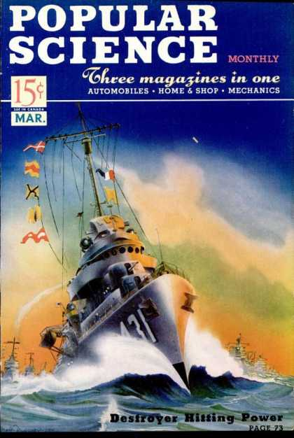 Popular Science - Popular Science - March 1941