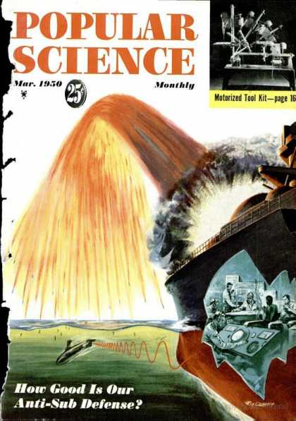Popular Science - Popular Science - March 1950