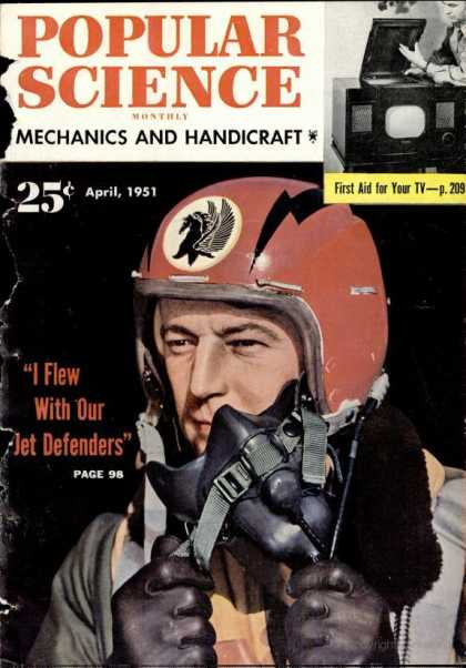 Popular Science - Popular Science - April 1951