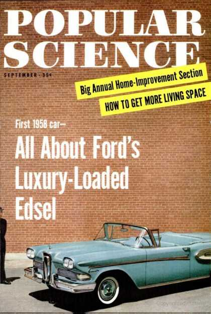 Popular Science - Popular Science - September 1957