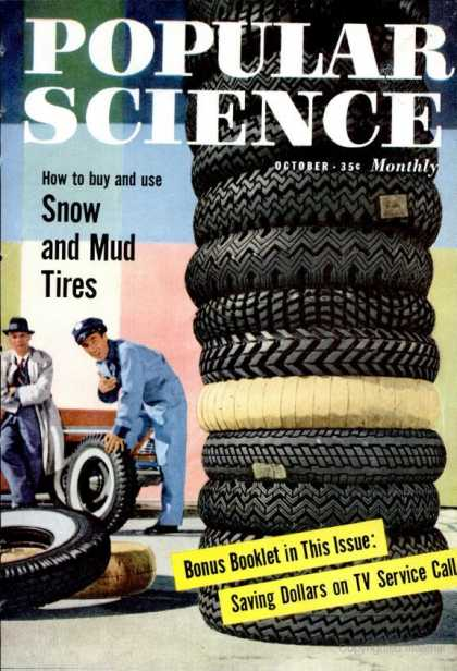 Popular Science - Popular Science - October 1957