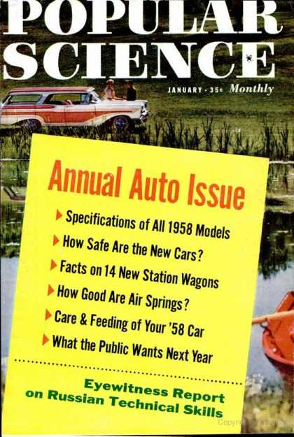 Popular Science - Popular Science - January 1958
