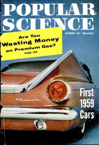 Popular Science - Popular Science - October 1958